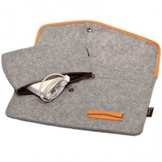 Чехол Dwiray для Macbook Air 11'' серый