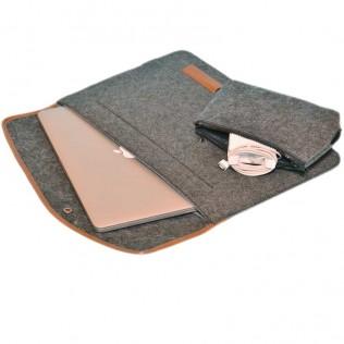 "Чехол Dwiray для Macbook Pro Retina 15"" темно-серый"