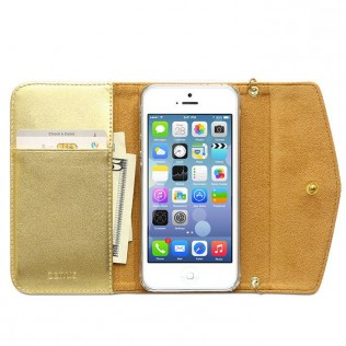 ZENUS IPHONE 5/5S PRESTIGE L-DIARY GOLD
